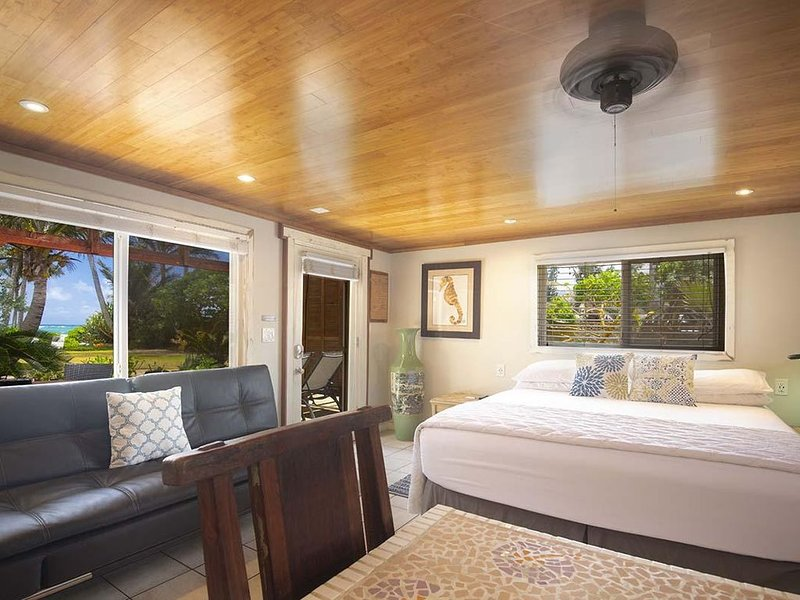 Coco Bungalow: studio at Tiki Moon Villas, vacation rental in Laie