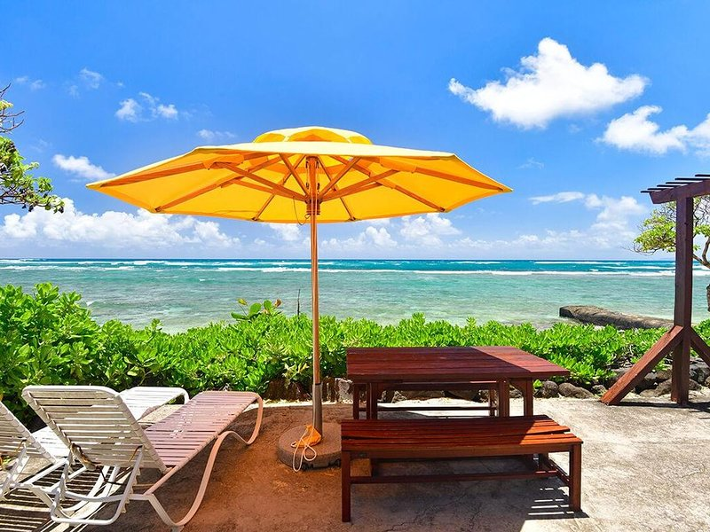 Ocean Breeze: 1bdrm/1ba at Tiki Moon Villas, vacation rental in Laie