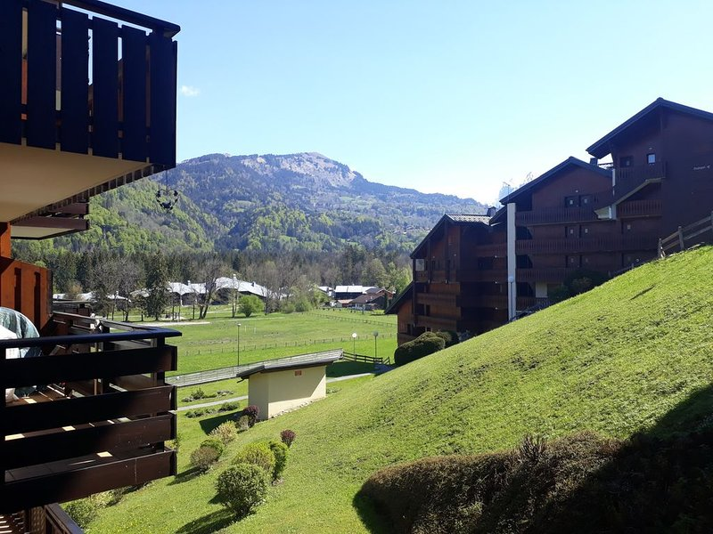 Appartement en résidence OURSONS 1, à deux pas du lac bleu, vacation rental in La Riviere-Enverse