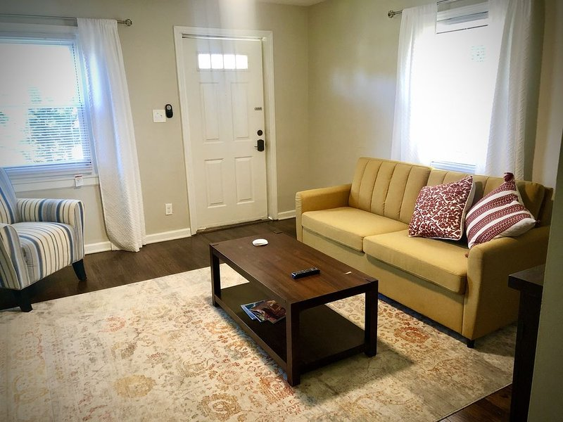 Cozy/Getaway 1BR- walk to Stadium and South End., Ferienwohnung in Belmont