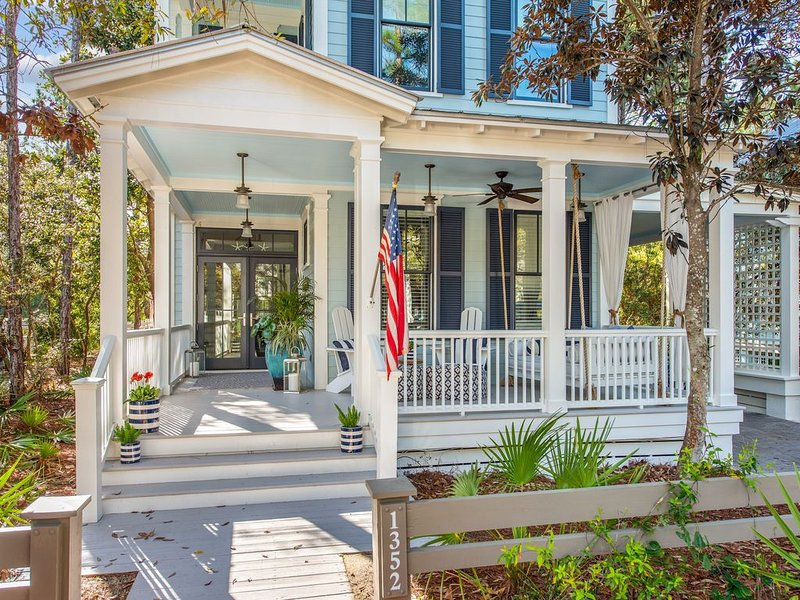 Across Street from Camp Watercolor! Expansive Porches! Recent Updates!, holiday rental in Seagrove Beach