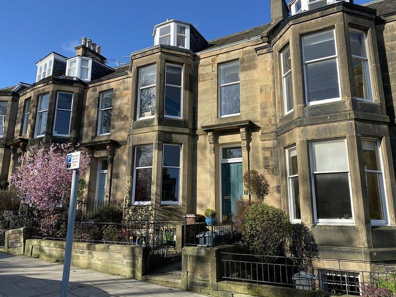 The Upper Villa, Stockbridge, Edinburgh, holiday rental in Edinburgh