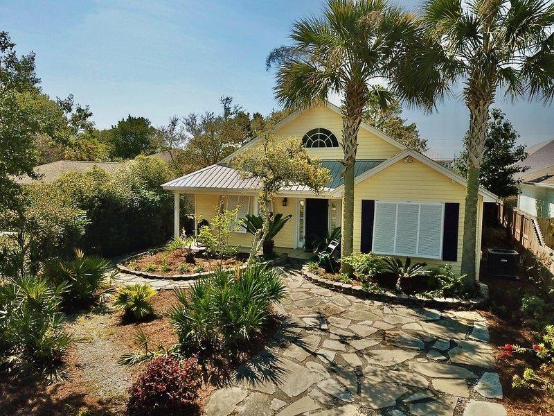 Coastal Cottage on West End of Panama City Beach, FL, alquiler de vacaciones en Ebro