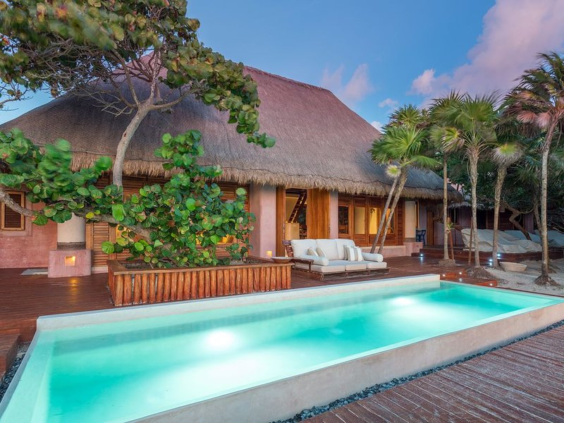 Fully-Staffed All-Inclusive Villa in Sian Kaan of Tulum, vacation rental in Punta Allen