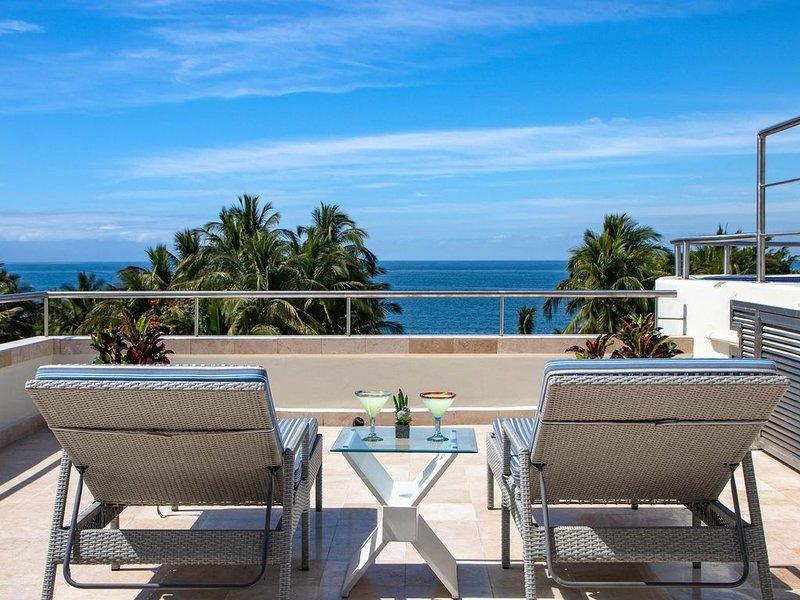 Nitta 2 bedroom Fantastic ocean Views with dipping pool and huge Deck, alquiler de vacaciones en Flamingos