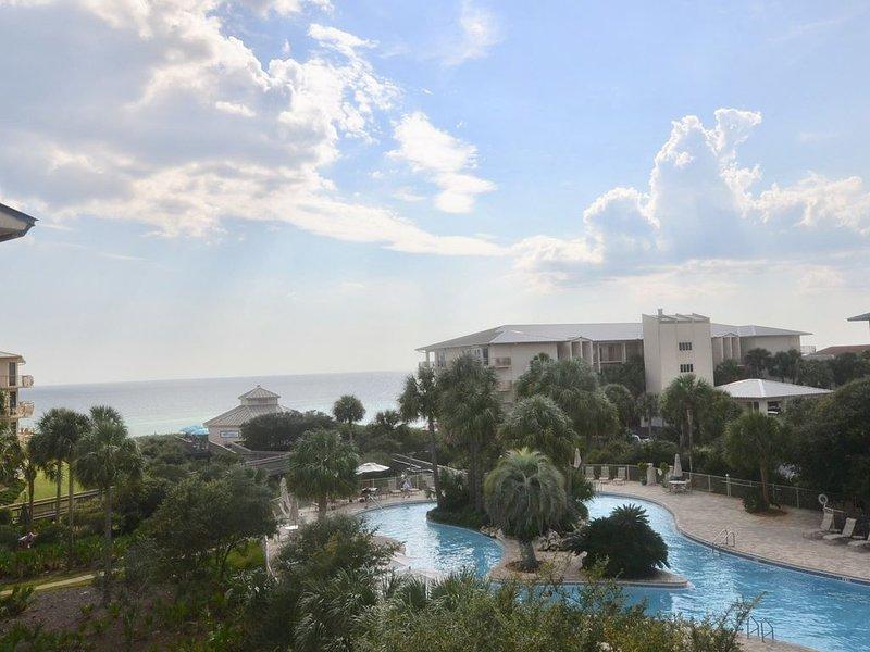 High Pointe Top floor, End unit 3BR/3BA w/amazing Gulf/Pool Views, Sleeps 10, holiday rental in Rosemary Beach