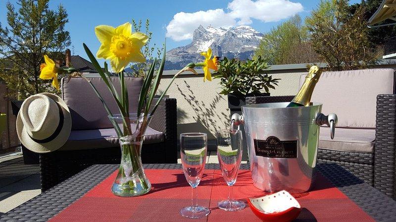 Séjour 4 étoiles au coeur d'une station thermale de montagne, proche télécabines, location de vacances à Saint-Gervais-les-Bains