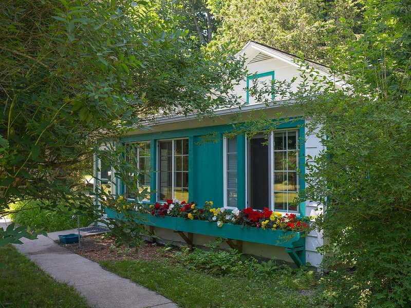 Newly remodeled cottage on beautiful Crystal Lake, alquiler vacacional en Frankfort