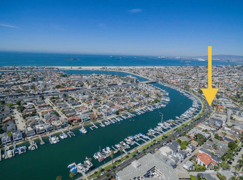 Dexter's Bayfront Beach House, vacation rental in Long Beach