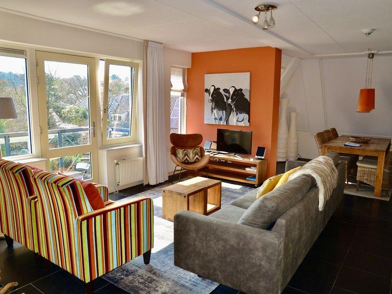 GROET: nur 2000 m vom Strand, wunderschöne Penthousewohnung mit Sauna, WLAN, vakantiewoning in Petten