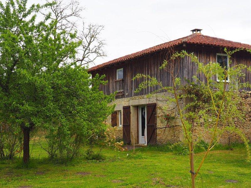 Maison calme au cœur de la forêt des Landes de Gascogne, holiday rental in Callen