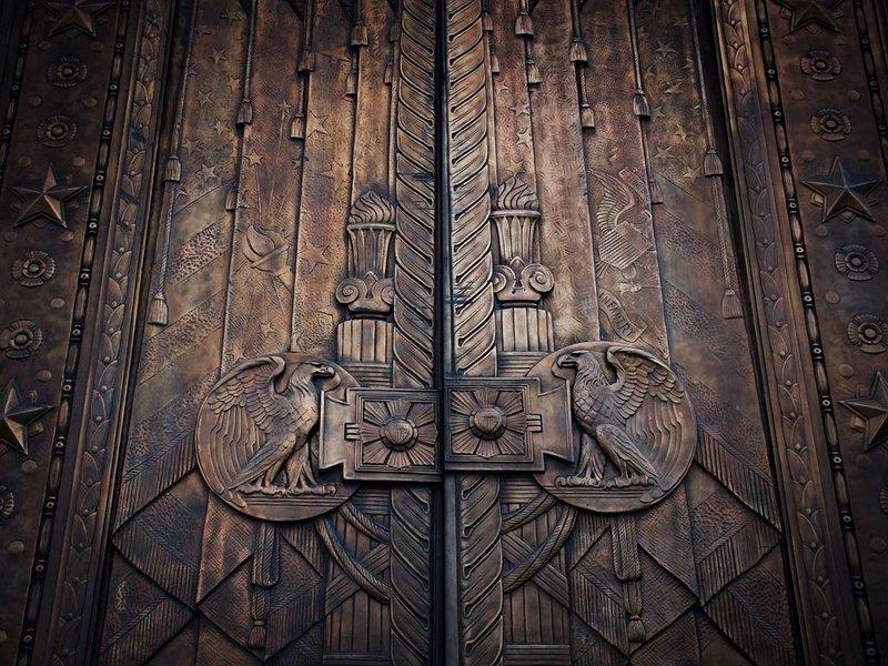 War Memorial doors