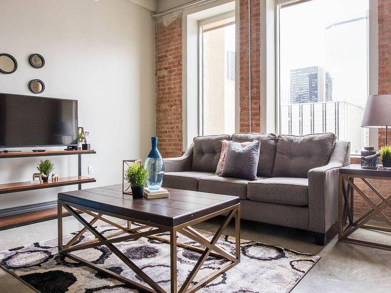 Contemporary Urban | Spacious 1BR * Arts + Culture, location de vacances à Dallas