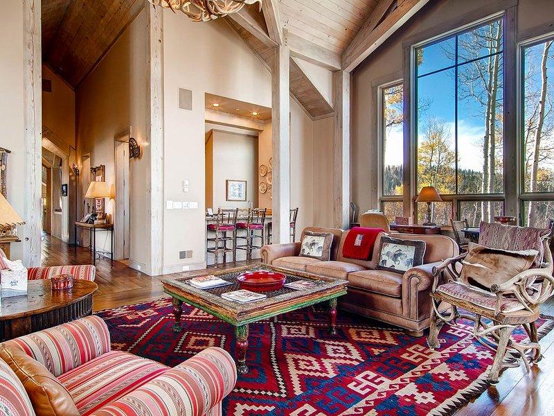 Find peace… in powder - Ski in/out, private hot tub: Powder Place, location de vacances à Mountain Village