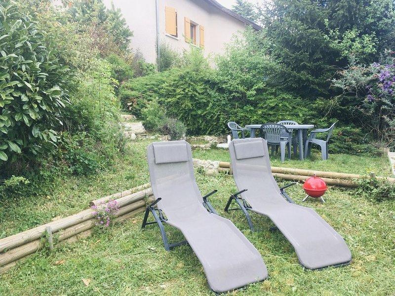 appartement 60 m² au coeur du Massif des Bauges en Savoie, holiday rental in Saint-Jean-d'Arvey