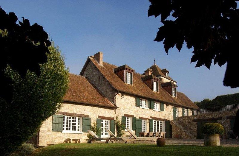 Très belle propriété de charme dans les vignes de champagne, piscine, tennis, location de vacances à Mezy-Moulins