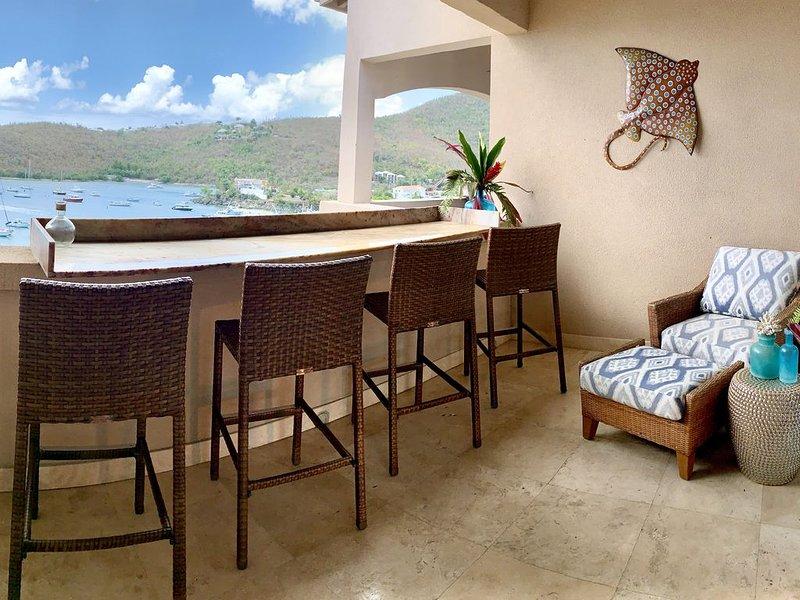 Grande Bay Resort- Aahana 1BR Condo, holiday rental in Cruz Bay