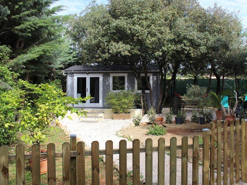 Studio cosy en Provence avec jardin privé, piscine et wifi, holiday rental in Bras