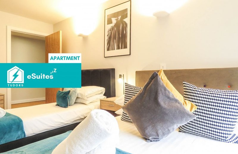 Tudors eSuites modern design apartment in the heart of Jewellery Quarter, holiday rental in Digbeth