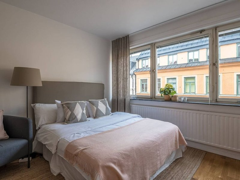 Comfortable Newly renovated studio at Kungsholmen, holiday rental in Stockholm