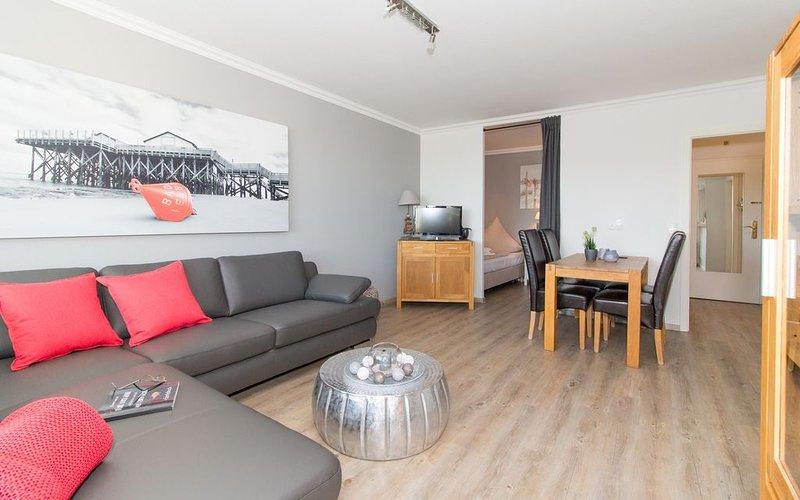 Ferienwohnung/App. für 3 Gäste mit 47m² in St. Peter-Ording - OT Bad (73217), holiday rental in Sankt Peter-Ording