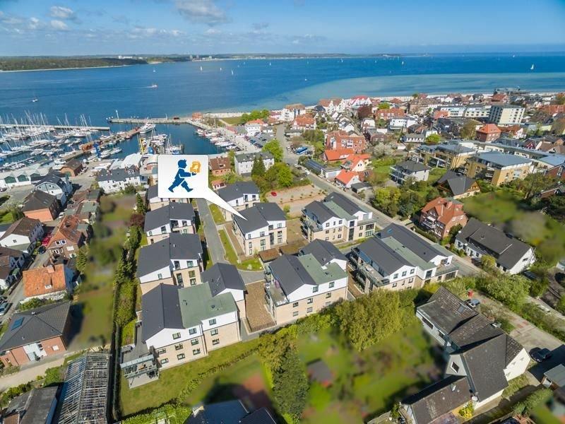 Nur wenige Minuten Fußweg zum Hafen, zum Strand und ins Ortszentrum, holiday rental in Kiel