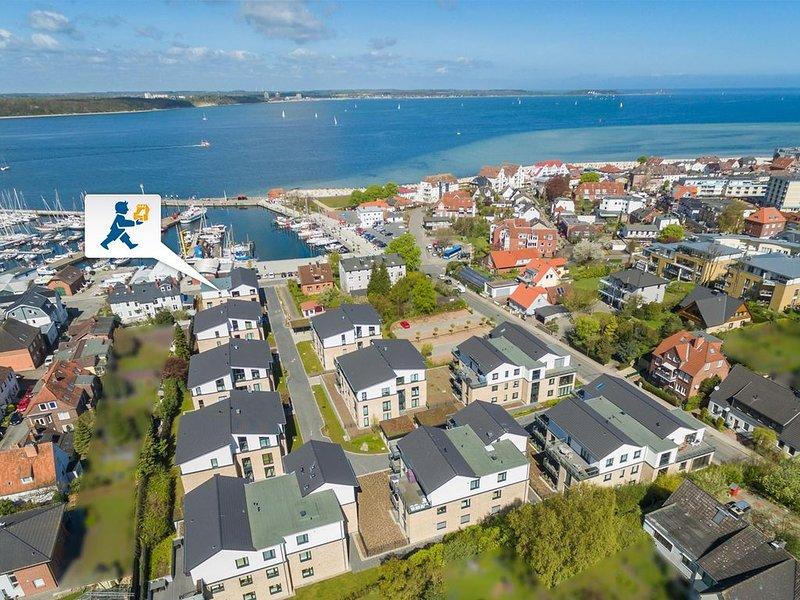 Helle und lichtdurchflutete Wohnung in Hafen- und Ostseenähe, aluguéis de temporada em Kiel