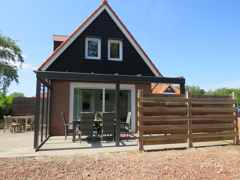 Super gemütliche Ferienunterkunft für 6 Personen in Oostkapelle, 1 km vom Strand, casa vacanza a Oostkapelle