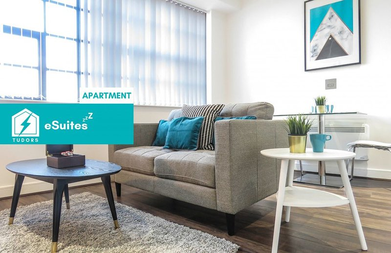 Tudors eSuites modern design studio apartment in the heart of Jewellery Quarter, holiday rental in Sandwell
