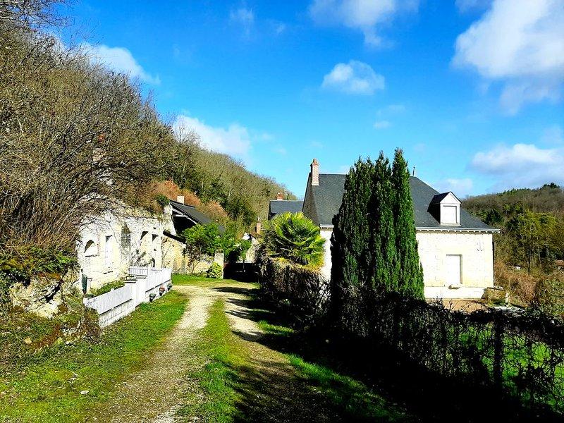 Grande Maison de caractère au cœur des vignobles, location de vacances à Reugny