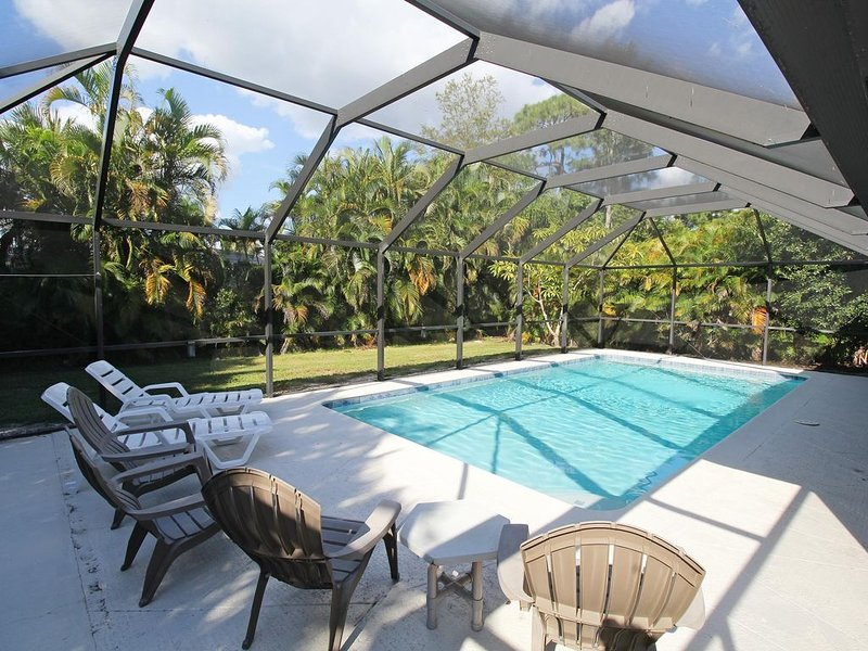 Heated Pool Home, Close to Downtown, holiday rental in Naples