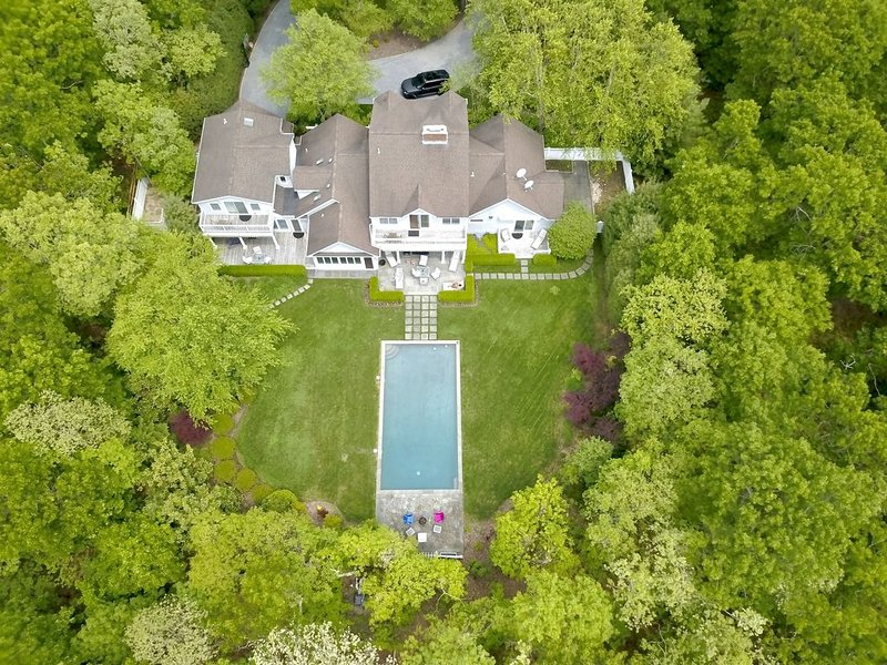 Complete Privacy in East Hampton/Wainscott, holiday rental in Wainscott
