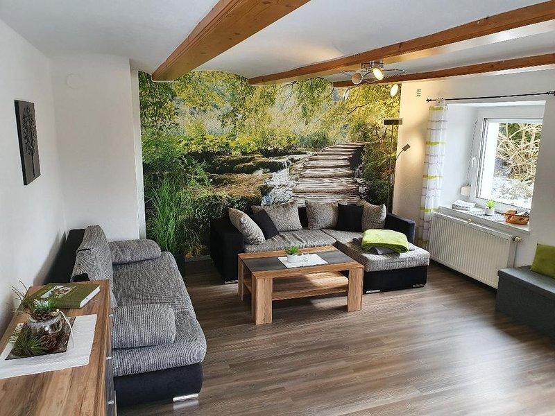 Moderne 70 qm Wohnung für 1-4 Personen mit Blick auf den Lusen, vakantiewoning in Kvilda
