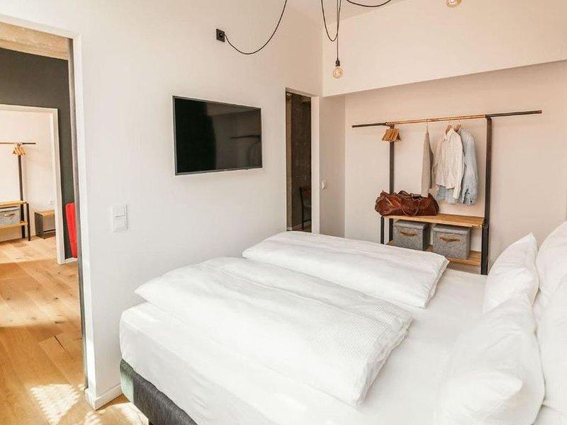 Suite XL, ca. 60qm, 2 Schlafzimmer, für 4 Personen