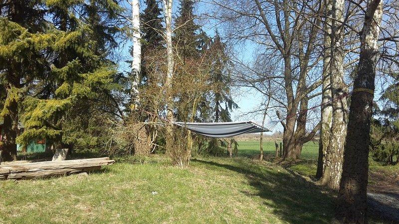 Gemütliches Chalet mit Infrarotkabine für 3 Personen DIREKT am Wald & nur 750m b, location de vacances à Kellenhusen