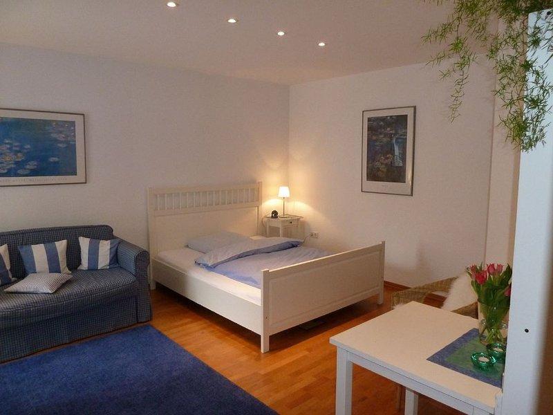 Ferienwohnung, 34 qm, 1 Wohn-/Schlafzimmer mit Doppelbett, Terrasse, max. 2 Pers, holiday rental in Sundern
