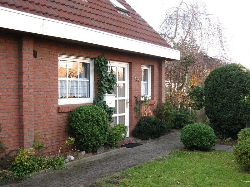 Ferienhaus 80qm, 3 Schlafzimmer, max. 5 Personen, holiday rental in Hooksiel