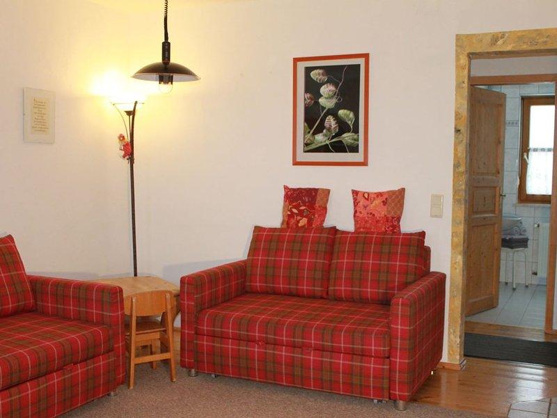 Geräumige Ferienwohung (45qm) in ruhiger Lage für bis zu 5 Personen, holiday rental in Kronach