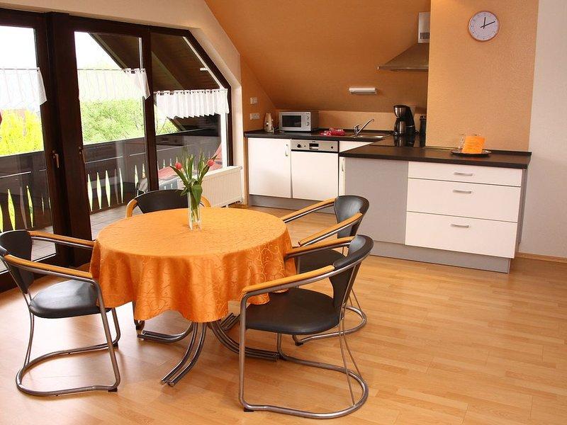 Ferienwohnung 'Engelbergblick' mit großem Panoramafenster und Balkon  4 Sterne, location de vacances à Obernburg