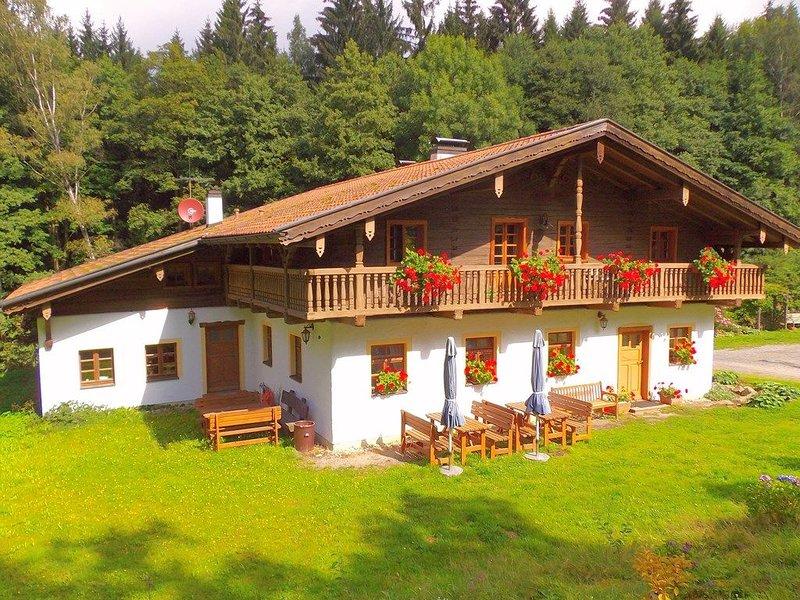 Lichtdruchflutete Ferienwohnung (51 qm) für bis zu 3 Personen und Terrasse, vacation rental in Waffenbrunn
