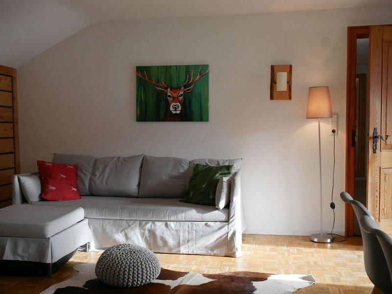 Ferienwohnung 8 - Herzogenhorn OG, 73qm, 2 Schlafzimmer, max. 6 Personen (4 Erwa, holiday rental in Menzenschwand-Hinterdorf