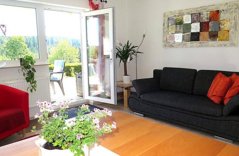 Ferienwohnung Pflumberg, 46qm, 1 Schlafzimmer, max. 4 Personen, vacation rental in Saig