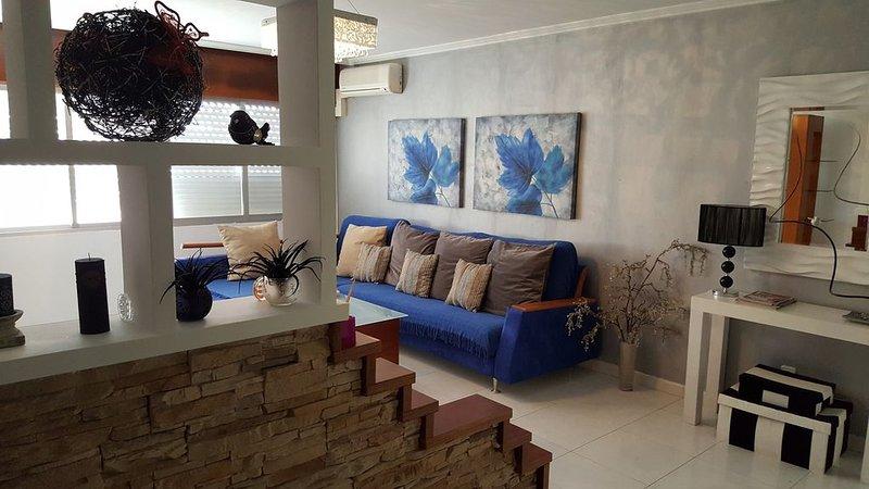 Apartamento 3 dormitorios Sanxenxo Centro, aluguéis de temporada em Outeiro