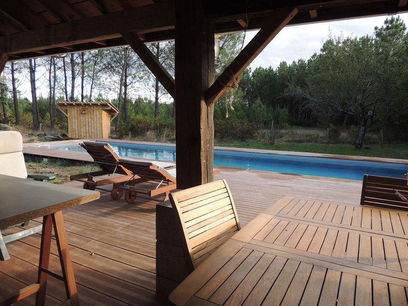 ENTRE CERFS ET CHEVREUILS, holiday rental in Commensacq