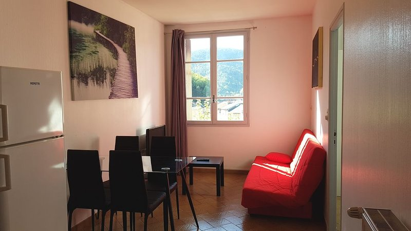 Appartement 3 famillial au coeur du village, holiday rental in Camprieu