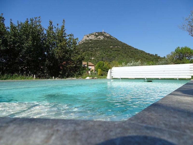 Villa avec piscine aux portes des Cévennes, vacation rental in Meyrannes
