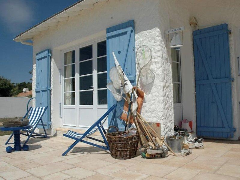 Un coin de Paradis… les pieds dans l'eau, holiday rental in Jard-sur-Mer