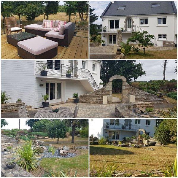 maison de vacances renovee sur 5000 m2 sans vis a vis et a 700m de la plage, location de vacances à Tregunc