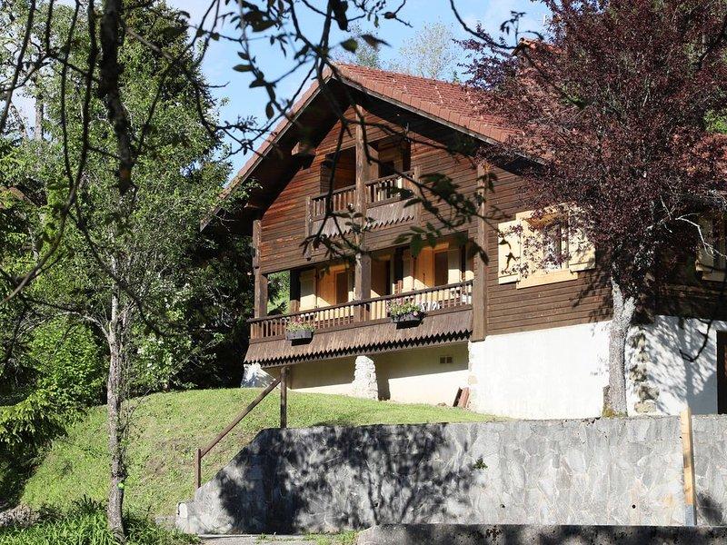 Chalet dans hameau de montagne à proximité de La Clusaz  et du Grand Bornand, vacation rental in Les Villards-sur-Thones