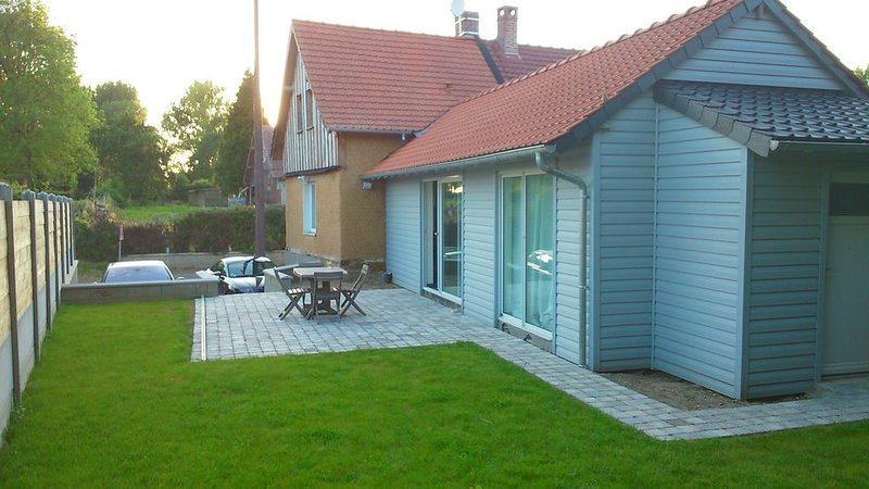 La maison est le point de départ idéal pour découvrir la baie de somme, vacation rental in Abbeville